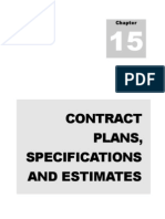 2012 Chapter 15 Contract Plans Specifications and Estimates