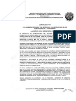 Comunicado Catatumbo