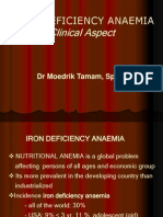 Iron Defiency Anaemi Siang