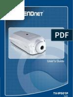 TrendNET camera UG_TV-IP501P(1.01)