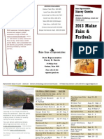 2012 Maine Fairs and Festivals