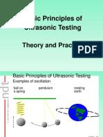 Basic Principles ULTRASONIC