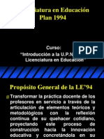 Le 94 Propositos Licenciatura
