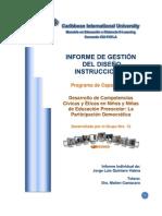 Informe de Gestion - Jorge Quintero