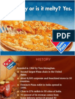 Ppt on Dominos