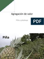 Agregación de valor Piña y Pitahaya