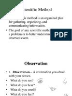 Introduction to Scientific Method