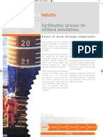 Certification Services for Offshore Installations[1]