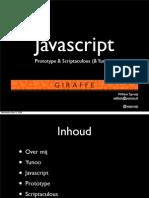 Javascript, Prototype & Scriptaculous  (& Yunoo!)