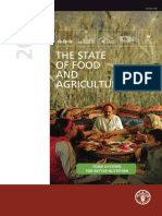 The U.N, State Of Food and Agriculture Report