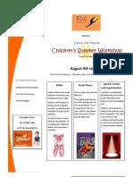 Summer Workshop '13 - Brochure
