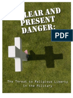 The Threat to Religious Liberty in the Military