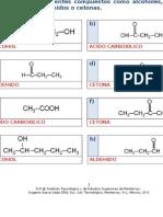 MIV-U3- Actividad 2. Identificación de compuestos orgánicos y alcoholes