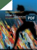 Notti Dell'Archeologia 2013 Programma Completo