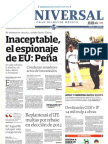 Portadas Nacionales Jueves 11-2013