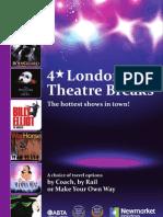 Newmarket Holidays - 4* London Theatre Breaks