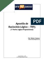 Raciocinio Logico Parte 01 AEP TRF5