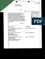 John Granito v. Hrazanek Lawsuit Decision, 2003
