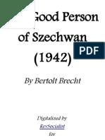 The good person szechuan