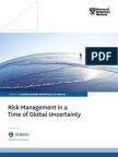 Risk Management in a Time of Global Uncertainty