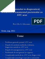 Prof.leonida Gherasim-Rolul Internistului in Diagnosticul Si Tratamentul AVC
