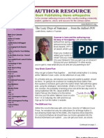The Author Resource / July - August, 2013
