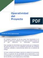 Operatividad de Un Proyecto
