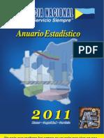 Anuario Estadístico Policía Nacional 2011