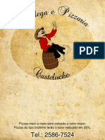 Cardápio Adega e Pizzaria Casteluche