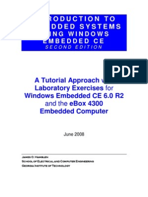IntroToEmbeddedwithWinEmbedCE2ndEd | Embedded System | Real