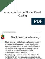 Principios de Block Caving