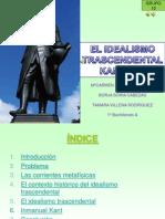 idealismotrascendentaltamara-090408175147-phpapp01