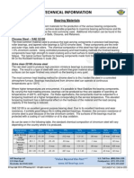 Bearing Materials Technical Information Sheet ENB 04 0553