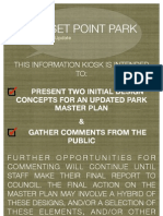 Information Kiosk Event Posters