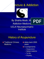 Acupuncture and Addiction 37462