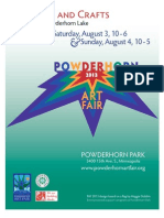 Powderhorn Art Fair 2013 Program
