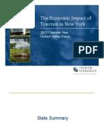 NYS Tourism Impact Hudson Valley 2012