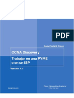 CCNA Discovery Trabajar en Una PYME o en Un ISP
