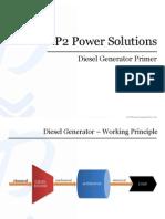 DG Set Primer - P2 Power Solutions