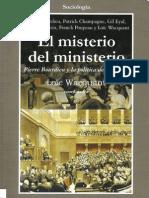 WACQUANT,Loïc (coord.)_El misterio del ministerio. Pierre Bourdieu y la política democrática