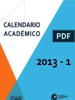 2013-1 Calendario de Evaluaciones Detallado (Actualizado 14junio2013)