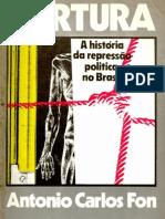 Livro Antonio Carlos Fon Tortura