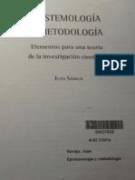 Samaja, Juan. EPISTEMOLOGÍA Y METODOLOGÍA. Elementos para una teoría de la investigación científica