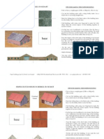 285 Scale Paper Buildings