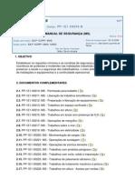 PP-1E1-00209-B - Manual de segurança
