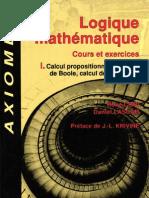 116861110 Logique Mathematique Tome I Rene Cori