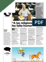 A Las Religiones Les Falta Humor