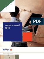 Backus-MemoriaAnual2012