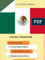 Evoluția Ciudad de Mexico PPT