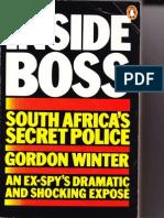 INSIDE South African Apartheid Secret Police Gordon Winter
